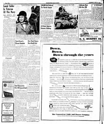 Naugatuck Daily News from Naugatuck, Connecticut on July 18, 1944 · Page 2