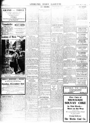 Sterling Standard from Sterling, Illinois on December 29, 1916 · Page 8