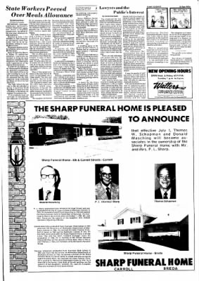 Carrol Daily Times Herald from Carroll, Iowa on June 25, 1974 · Page 7