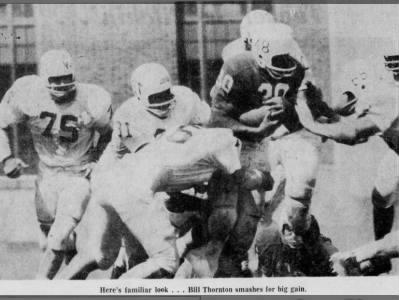 1962 spring game Thornton photo