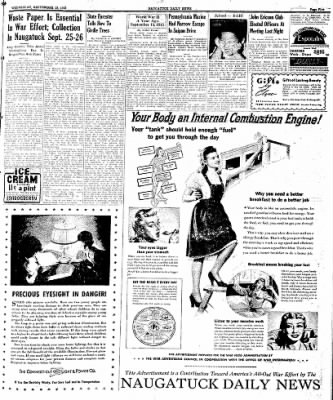 Naugatuck Daily News from Naugatuck, Connecticut on September 13, 1944 · Page 5