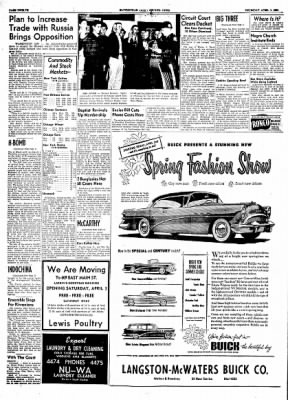 The Courier News from Blytheville, Arkansas on April 1, 1954 · Page 12