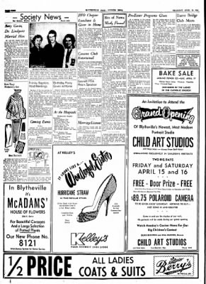 The Courier News from Blytheville, Arkansas on April 15, 1954 · Page 4