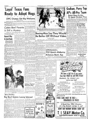 The Courier News from Blytheville, Arkansas on December 30, 1954 · Page 6