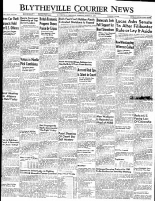 The Courier News from Blytheville, Arkansas on March 15, 1949 · Page 1