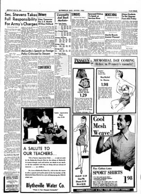 The Courier News from Blytheville, Arkansas on May 24, 1954 · Page 3