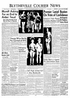 The Courier News from Blytheville, Arkansas on June 12, 1954 · Page 1