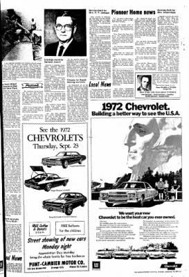 The Sioux County Capital from Orange City, Iowa on September 23, 1971 · Page 3