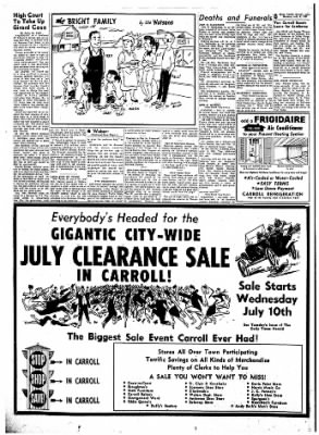 Carrol Daily Times Herald from Carroll, Iowa on July 8, 1957 · Page 8