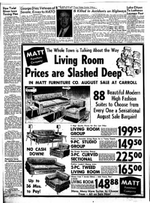 Carrol Daily Times Herald from Carroll, Iowa on August 5, 1957 · Page 8