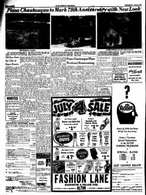 Alton Evening Telegraph from Alton, Illinois on June 29, 1960 · Page 16