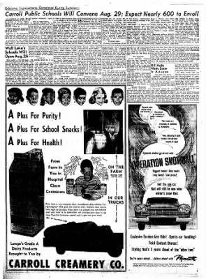Carrol Daily Times Herald from Carroll, Iowa on August 14, 1957 · Page 15