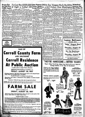Carrol Daily Times Herald from Carroll, Iowa on August 21, 1957 · Page 2