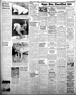 Hope Star from Hope, Arkansas on October 20, 1958 · Page 4
