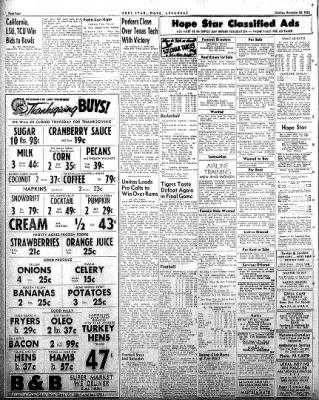 Hope Star from Hope, Arkansas on November 24, 1958 · Page 4