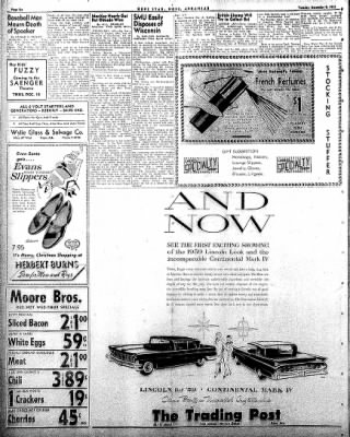 Hope Star from Hope, Arkansas on December 9, 1958 · Page 6