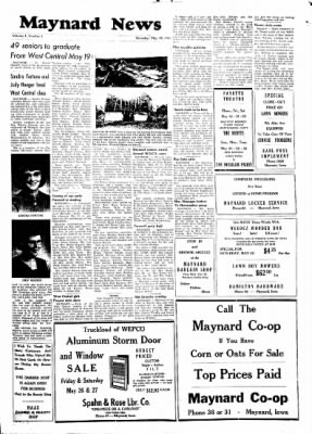 Fayette County Leader from Fayette, Iowa on May 18, 1961 · Page 7