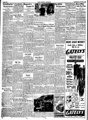 Alton Evening Telegraph from Alton, Illinois on January 11, 1950 · Page 2