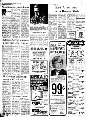 Alton Evening Telegraph from Alton, Illinois on September 11, 1972 · Page 6