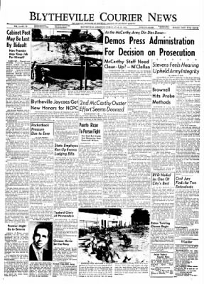 The Courier News from Blytheville, Arkansas on June 18, 1954 · Page 1