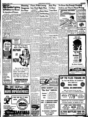 Alton Evening Telegraph from Alton, Illinois on April 15, 1961 · Page 7
