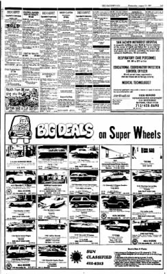 The Baytown Sun from Baytown, Texas on August 19, 1987 · Page 21