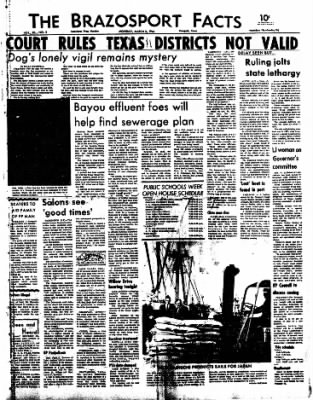 The Brazosport Facts from Freeport, Texas on March 2, 1964 · Page 1