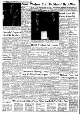 Lubbock Avalanche-Journal from Lubbock, Texas on April 4, 1975 · Page 8