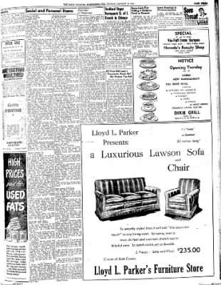 The Daily Register from Harrisburg, Illinois on January 19, 1948 · Page 3