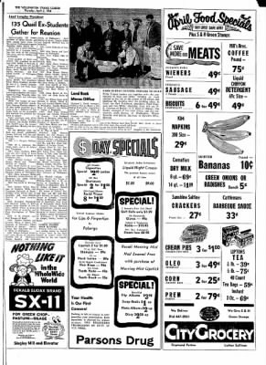 The Wellington Leader from Wellington, Texas on April 2, 1964 · Page 7