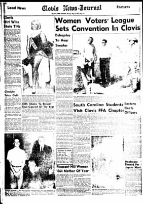 Clovis News-Journal from Clovis, New Mexico on May 9, 1965 · Page 10