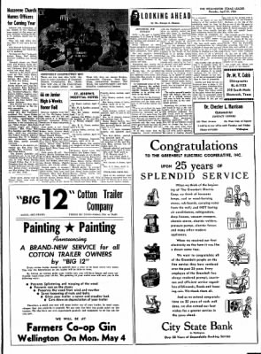 The Wellington Leader from Wellington, Texas on April 23, 1964 · Page 14