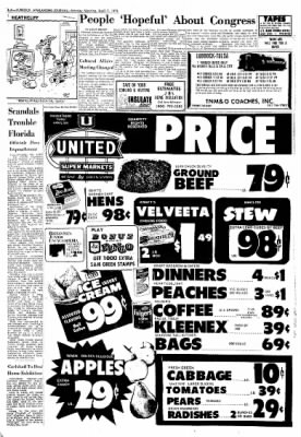 Lubbock Avalanche-Journal from Lubbock, Texas on April 7, 1975 · Page 4