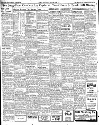 Lubbock Morning Avalanche from Lubbock, Texas on March 20, 1942 · Page 5
