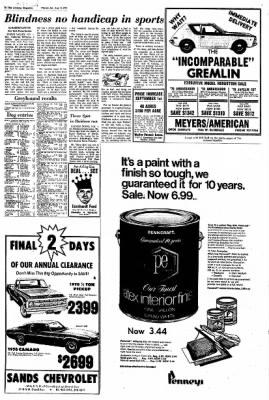 Arizona Republic from Phoenix, Arizona on August 15, 1970 · Page 125