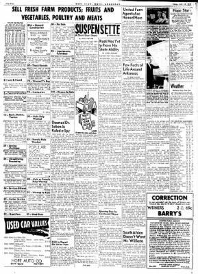 Hope Star from Hope, Arkansas on July 14, 1961 · Page 4