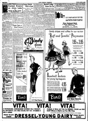 Alton Evening Telegraph from Alton, Illinois on April 24, 1953 · Page 4