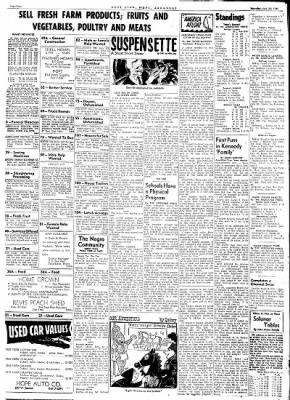 Hope Star from Hope, Arkansas on July 22, 1961 · Page 4