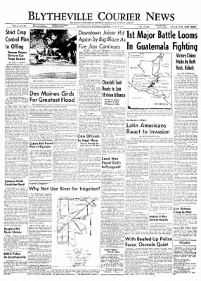 The Courier News from Blytheville, Arkansas on June 22, 1954 · Page 1
