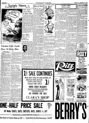 The Courier News from Blytheville, Arkansas on December 31, 1953 · Page 4