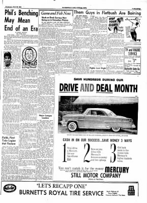 The Courier News from Blytheville, Arkansas on July 27, 1954 · Page 7