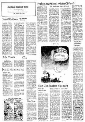 Northwest Arkansas Times from Fayetteville, Arkansas on May 2, 1974 · Page 4