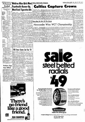 Northwest Arkansas Times from Fayetteville, Arkansas on May 13, 1974 · Page 9
