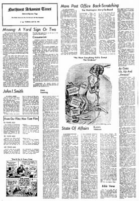 Northwest Arkansas Times from Fayetteville, Arkansas on May 23, 1974 · Page 4