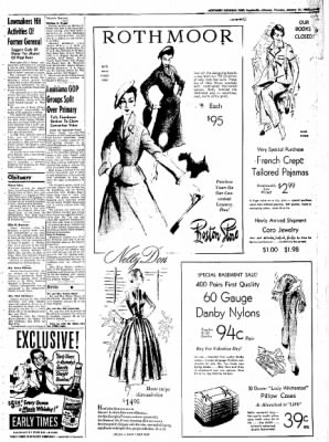 Northwest Arkansas Times from Fayetteville, Arkansas on January 31, 1952 · Page 3