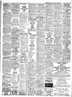 Northwest Arkansas Times from Fayetteville, Arkansas on February 20, 1952 · Page 9