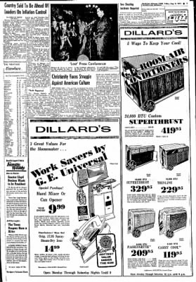 Northwest Arkansas Times from Fayetteville, Arkansas on August 9, 1974 · Page 7