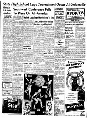 Northwest Arkansas Times from Fayetteville, Arkansas on March 5, 1952 · Page 9