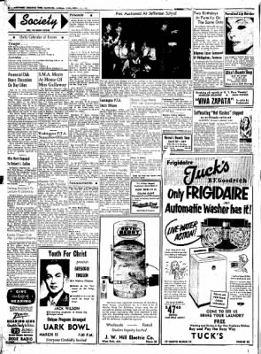 Northwest Arkansas Times from Fayetteville, Arkansas on March 14, 1952 · Page 2