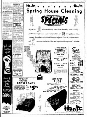 Northwest Arkansas Times from Fayetteville, Arkansas on March 18, 1952 · Page 3